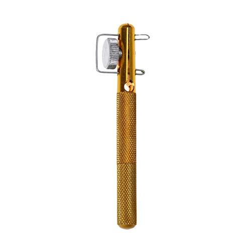 Aluminiumlegierung Angelschnur Knoten Binden Werkzeug, Angelhaken Handbuch Knotter Krawatte Gerät Fisch Werkzeug, Goldene