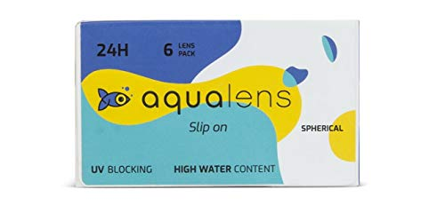 Aqualens 24 H Monthly Disposable (6 Lens per Box) - (-1.25)