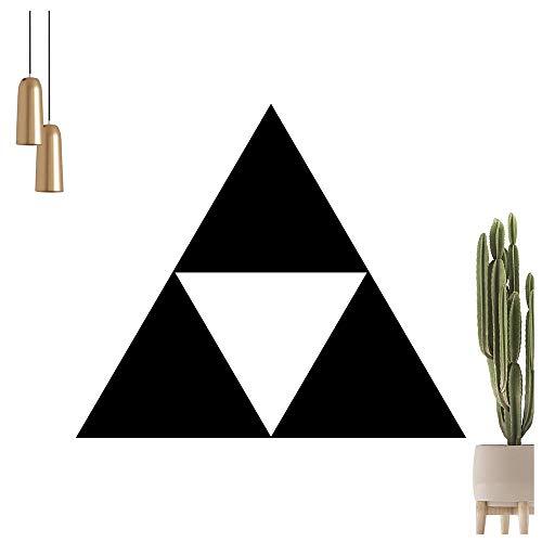 Triforce Wandtattoo in 6 Größen - Wandaufkleber Wall Sticker