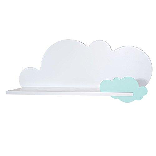 Bainba Estantería Infantil Nube (Nube, Menta)