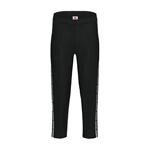 Kappa Authentic JPN Ciulio Pantalone Nero da Uomo 304S1S0-005