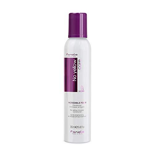Fanola Official No Yellow Shampoo & Incredible Conditioner Foam (Shampoo 350ml + Foam 250ml)