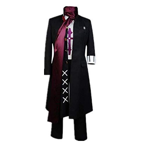 5PCS / Set Disfraz de Cosplay Carnaval de Halloween Super Danganronpa Gundam Tanaka Daily Church Uniforme Trajes con Accesorios