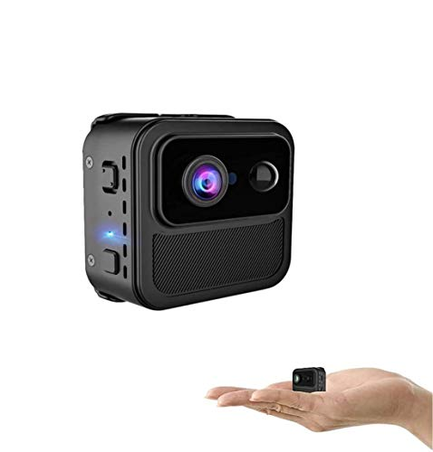 Cámara espía Cámara WiFi 4K Ultra HD Resolución Video Nanny CAM Visión Nocturna Detección de Movimiento PIR Mini cámara Video Remoto en Tiempo Real