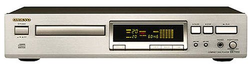 Onkyo DX-7222 CD-Player Silber