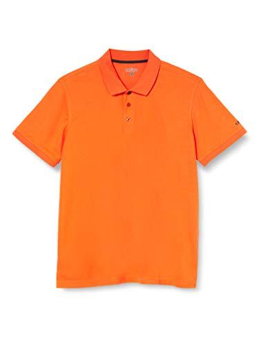 CMP Polo pour Homme 3t60077 S Rouge Orange.