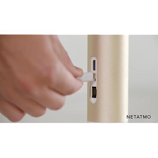 Netatmo Cámara de Vigilancia Interior WIFI, Detección de movimientos, Visión Nocturna, Sin Costo Adicional, NSC01-EU (Welcome)