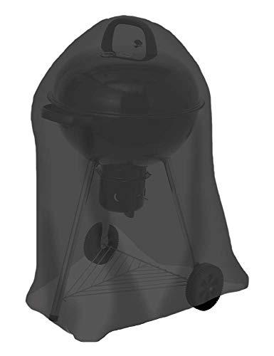 tepro Universal Abdeckhaube -für Kugelgrill klein, schwarz