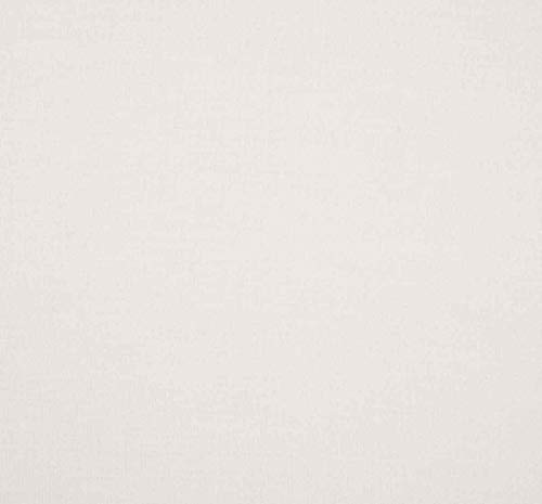 Linder 0509/29/851/70 Monaco Chemin de Lit Ouatiné Polyester/Coton Blanc 210 x 70 cm