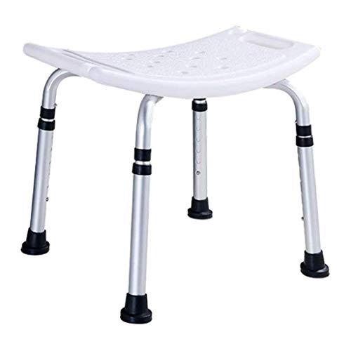 NIHAOA Badezimmer Sitz Einstellbare Badewanne und Dusche Stuhl Mit Assist Haltegriff - Anti-Rutsch-Bank Badewanne Sitzhocker for Badezimmer-Sicherheit