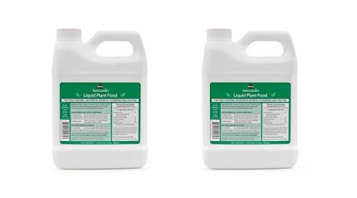 AeroGarden Liquid Nutrients (1 Liter) (Pack of 2)