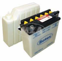 SOTEX Batterie 12N5,5-3B 12V pass. f. Simson S51, S53, alle MZ ETZ