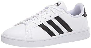 adidas Women s Grand Court Black/White 8 M US