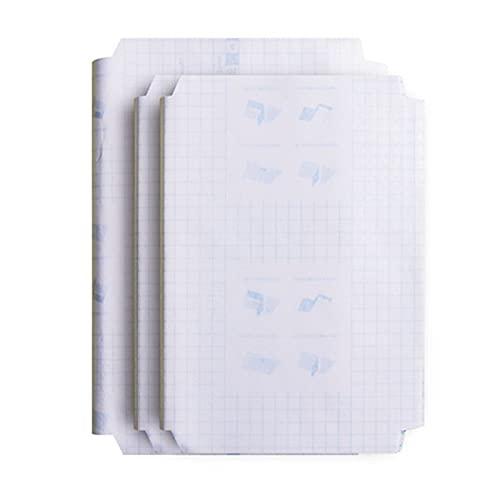 30 Pezzi Pellicola di Protezione da Libro Autoadesivo, Copertina per Quaderni in Plastica, Copertine Trasparenti per Quaderni A4, per Scuola, Casa, Ufficio, Taccuino, Libro