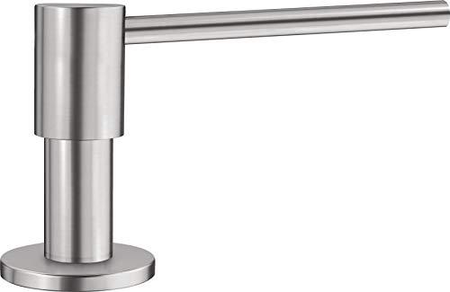 Blanco 515991 Seifenspender Piona Spülmittelspender für die Küchenspüle Edelstahl Seidenglanz