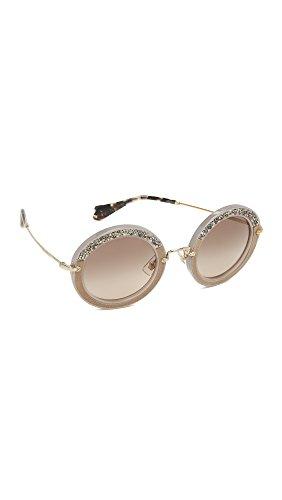 Miu Miu Unisex MU08RS Sonnenbrille, Beige (Beige UE23D0), One Size (Herstellergröße: 49)