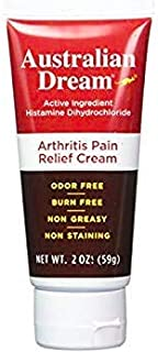 Australian Dream Arthritis Pain Relief Tube Cream, 2 Ounce