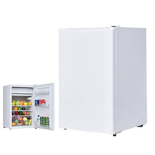 COSTWAY 123L Kühlschrank Minikühlschrank Standkühlschrank Hotelkühlschrank A+