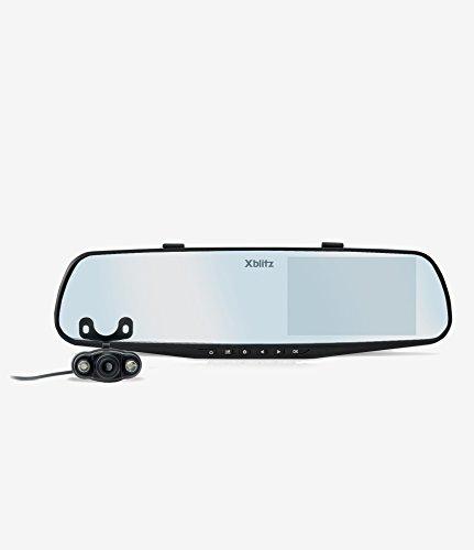 Xblitz Park View Rétroviseur de Voiture Full HD avec caméra de recul écran LCD 4,3\