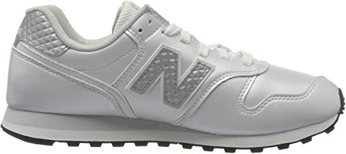 New Balance Damen 373v2 Sneaker, Weiß (White/Grey Gd2), 40 EU