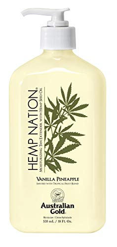 Australian Gold Vanilla Pineapple Hemp Nation Moisturizing Tan...