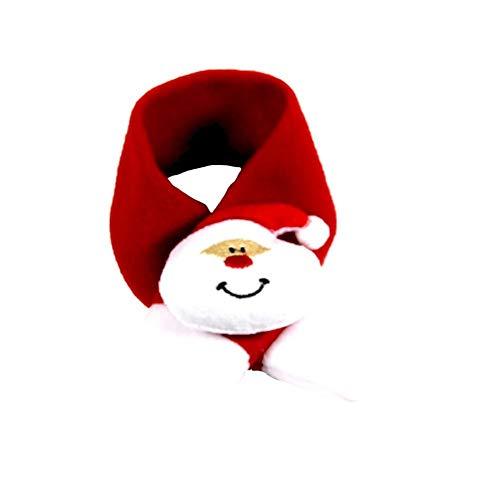 CyFe Haustier-Kostüm, witziges Halstuch für Katzen, kleine Hunde, Weihnachts-Kostüm, warm, Baumwolle