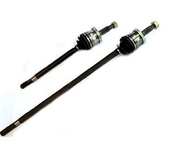 DTA DC2502325022A Front Axles Compatible with 1999-2004 Grand Cherokee With Select Trac or Quadra Trac Will NOT Fit Quadra Drive