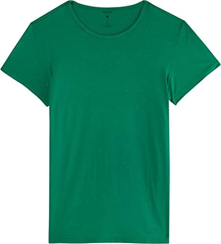 Blusa Ampla Em Malha Botonê Malwee, Verde, Feminino, GG
