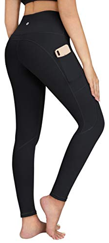 ESPIDOO Yoga Pants with Pockets for Women High Waist Athletic Leggings XS