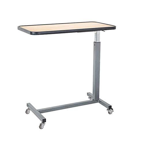 JD Bug Opklapbare tafel Sofa Bed Tafel Bureau Laptop bureau Mobiele heftafel Luie bed Laptop tafel Oude eettafel nachtkastje Afmetingen: 77x39x (70~102) Cm (Kleur: kersenrood)