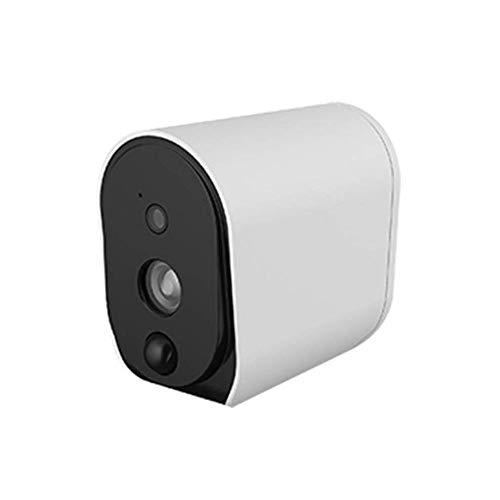 Cámara de vigilancia con batería, cámara IP inalámbrica 1080P HD for Interior al Aire Libre con Sensor PIR, Audio bidireccional, visión Nocturna y Ranura for Tarjeta Micro SD