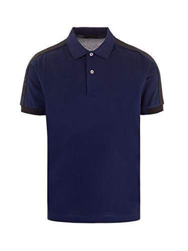Prada Luxury Fashion Herren UJN612S2011VNYF0216 Blau Baumwolle Poloshirt | Frühling Sommer 20