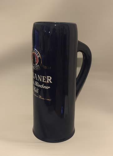 Paulaner Vaso de 0,5 l, de Múnich, jarra de cerveza, jarra, vasos, cerveza, gastronómico, coleccionable.