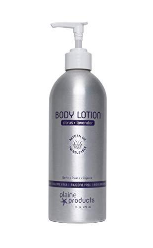 Eco-Friendly Body Lotion: Citrus Lavender, 16 oz (Refillable with...