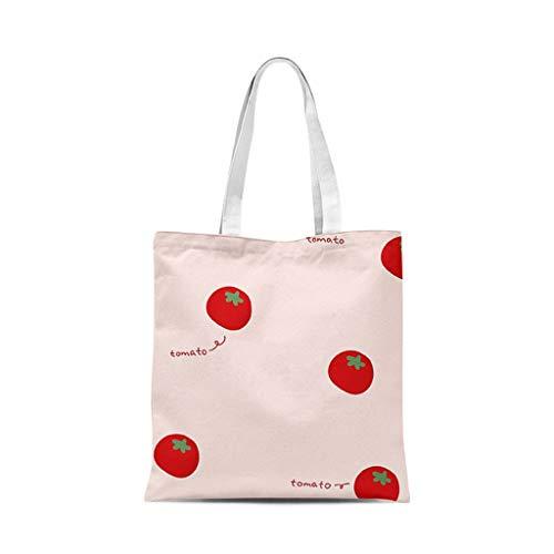 XXT Umweltschutz-Beutel-Retro- Nette eine Schulter Tasche Stoff Umweltschutz Tasche (Color : E, Size : 40 * 45cm)