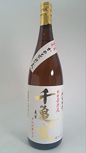 若潮酒造『本格焼酎 千亀女~麦製~ かめ壺貯蔵』