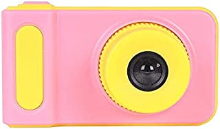 Mini Digital Camera for Kids with Expandable Memory - Pink/Yellow Kids Camera Point & Shoot Camera Kids Camera Point & Sho...