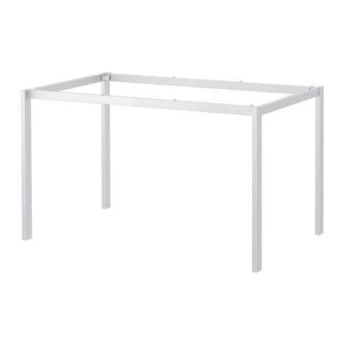 IKEA MELLTORP - Untergestell, weiß - 125x75 cm