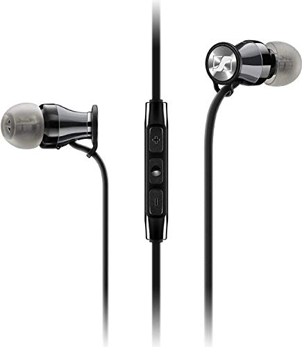 Sennheiser Momentum 2.0 In-Ear Headphones (Android) - Black/Chrome