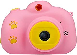ACHICOO X700 Kids Camera Toys 18MP HD Digital Camera Support 32G Card 2.4inches Screen Dual Selfie Video Game Camcorder Pink