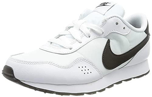 Nike MD Valiant BG, Scarpe da Ginnastica, White/Black, 38 EU