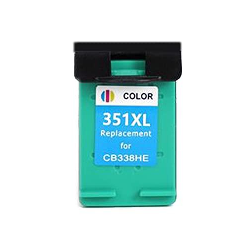 AXAX Reemplazo del Cartucho de tóner para HP350XL 351XL Compatible para HP DeskJet D4200 D4260 D4263 D4360 Impresora, Impresora de Oficina de la Escuela Accesorios de alt Color