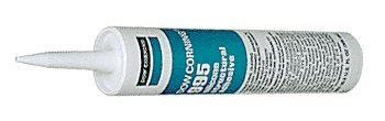 Black Dow Corning 995 Silicone Structural Max 60% OFF Sealant - Free Shipping Cheap Bargain Gift Tubes 6