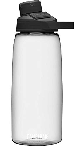 Camelbak Botellas unisex Chute Mag, transparentes, 1 litro/32 onzas