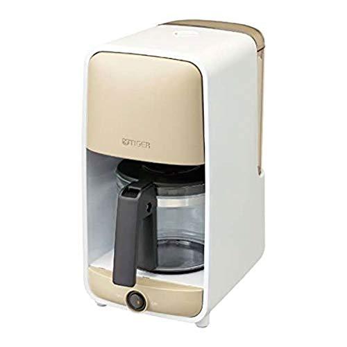 タイガー コーヒーメーカー グレージュホワイトTIGER ADC-B060-WG