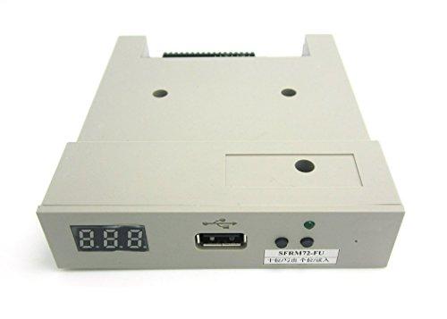 NAMVO sfrm72-fu–Externes Diskettenlaufwerk Emulator mit USB, Weiß