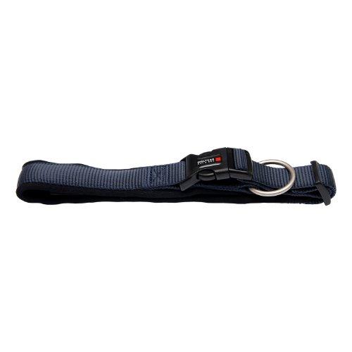 Wolters Cat&Dog Professional Comfort 60652 Halsband 50-55cm x 35mm graphit/schwarz