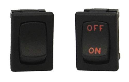 Rocker Switch ON-None-Off SPST 10 In stock Regular dealer Terminals AMP250VAC QC