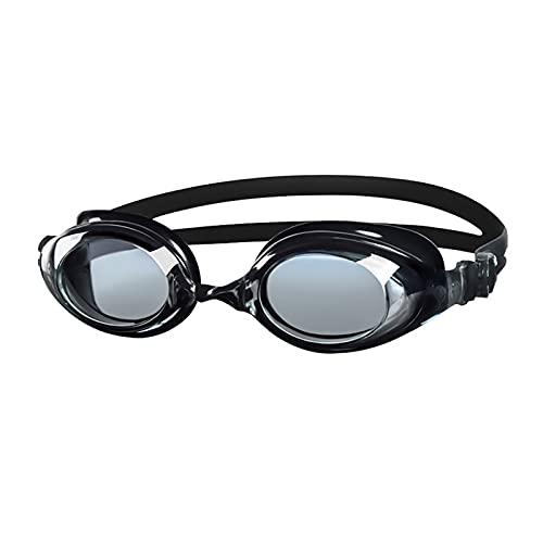 XBYUNDING Gafas, Hombres y Mujeres Gafas de natación Planas HD Gafas de natación Adultas Anti-Niebla Impermeables adecuadas for Nadar en Interiores y Exteriores, Play Play y fácil de Llevar