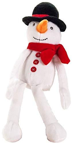 Muñeco de nieve de peluche con sombrero y bufanda de 24 cm | peluche | regalo | niño | niña | niño | Snowman |...